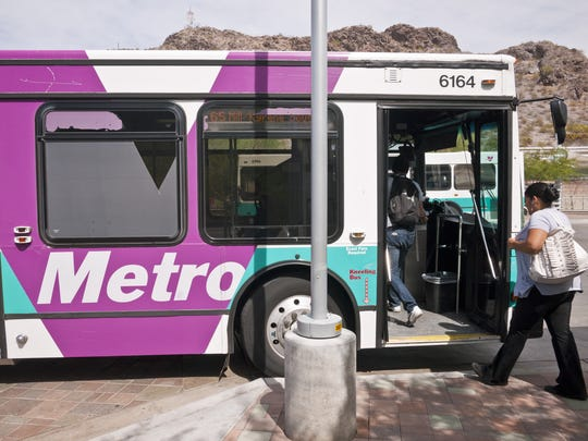 Try taking the bus or light rail to avoid traffic and a potentially stressful driving experience.