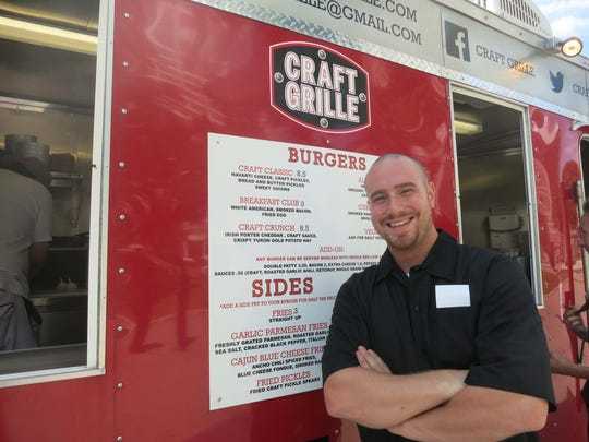 Kevin Donato of St. Clair Shores opened his Craft Grille food truck this spring and wants to see Detroit's food-truck community expand and flourish.