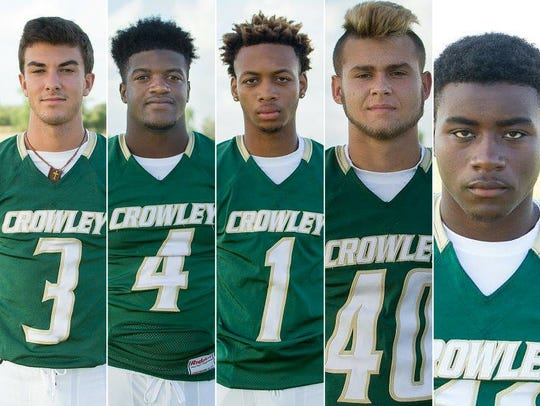 Crowley Players to Watch Pate Broussard, Ty'Von Griffin,