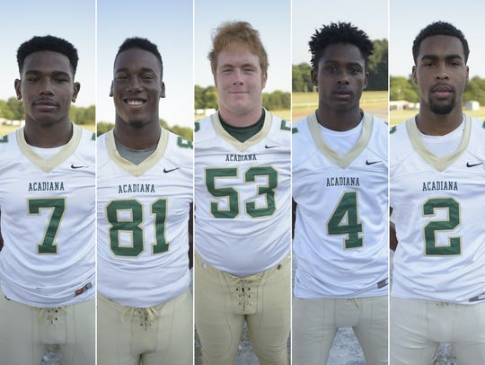 Acadiana High Players to Watch Kevin Moore, Javonis