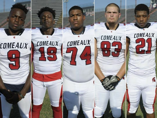 Comeaux High Players to Watch Tanarious Achan, D'Von