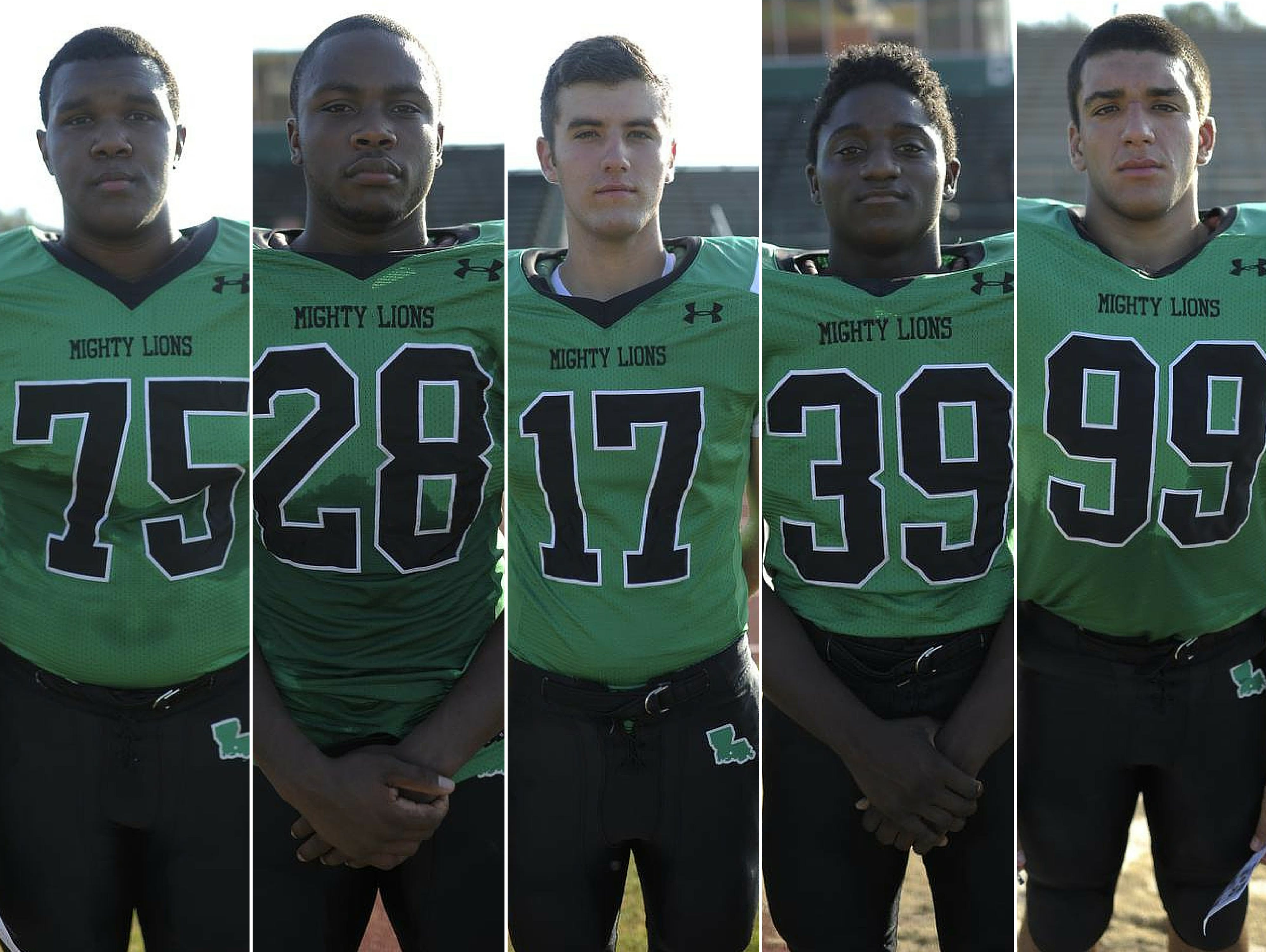 Lafayette High Players to Watch Dominique Williams, James Brown, Dwight Youngblood, Rodrigo Diaz, and Thaquan Priestley.