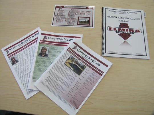 Parents in the Elmira school district will get a refrigerator magnet explained how to contact their child's school, a resource guide and the Express News newsletter