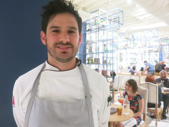 La Dulce executive chef Juan  Carlos Negrete.