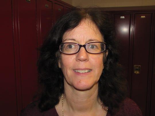 Noreen Dieg, Elmira High School business teacher