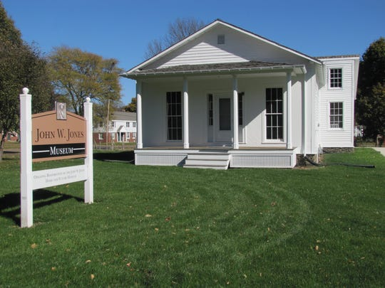 The Jones W. Jones Museum is undergoing restoration at its site at 1250 Davis St. in Elmira.