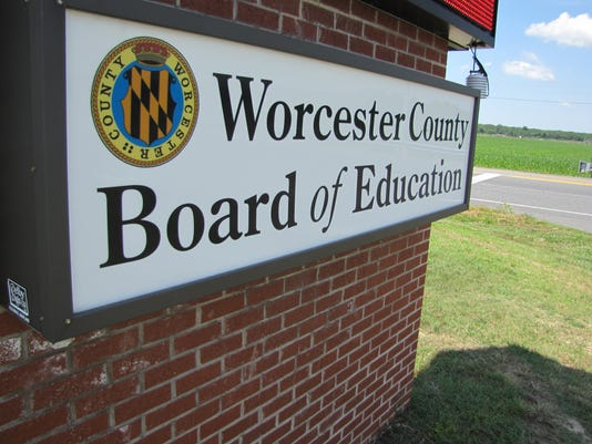 Worcester schools BOE logo