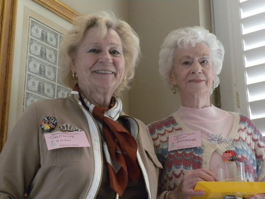 Daphne Wilson, left, and Betty Alexander.