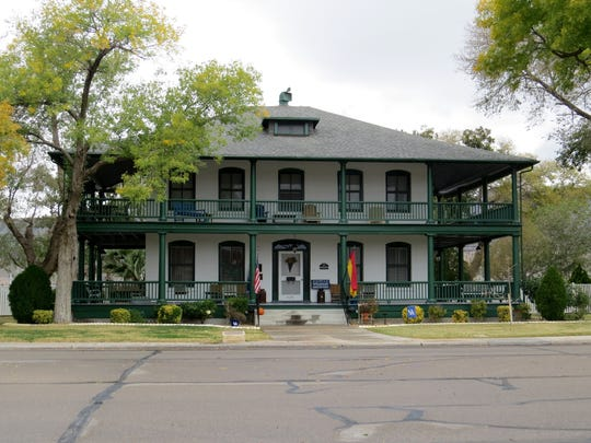 The Pershing House is one of the homes that will be featured on the Tour of Historic Homes on Dec. 3.