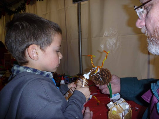 Christmas crafts will once again be a mainstay at the 38th Annual Christmas Festival at Silver Falls State Park, a family event taking place 11 a.m. to 4 p.m. Saturday and Sunday, Dec. 12-13.