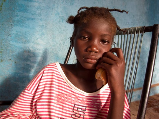 This 12-year-old girl from Mali is a survivor of trafficking.