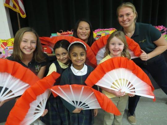 Mandarin Chinese language students at Wardlaw-Hartridge