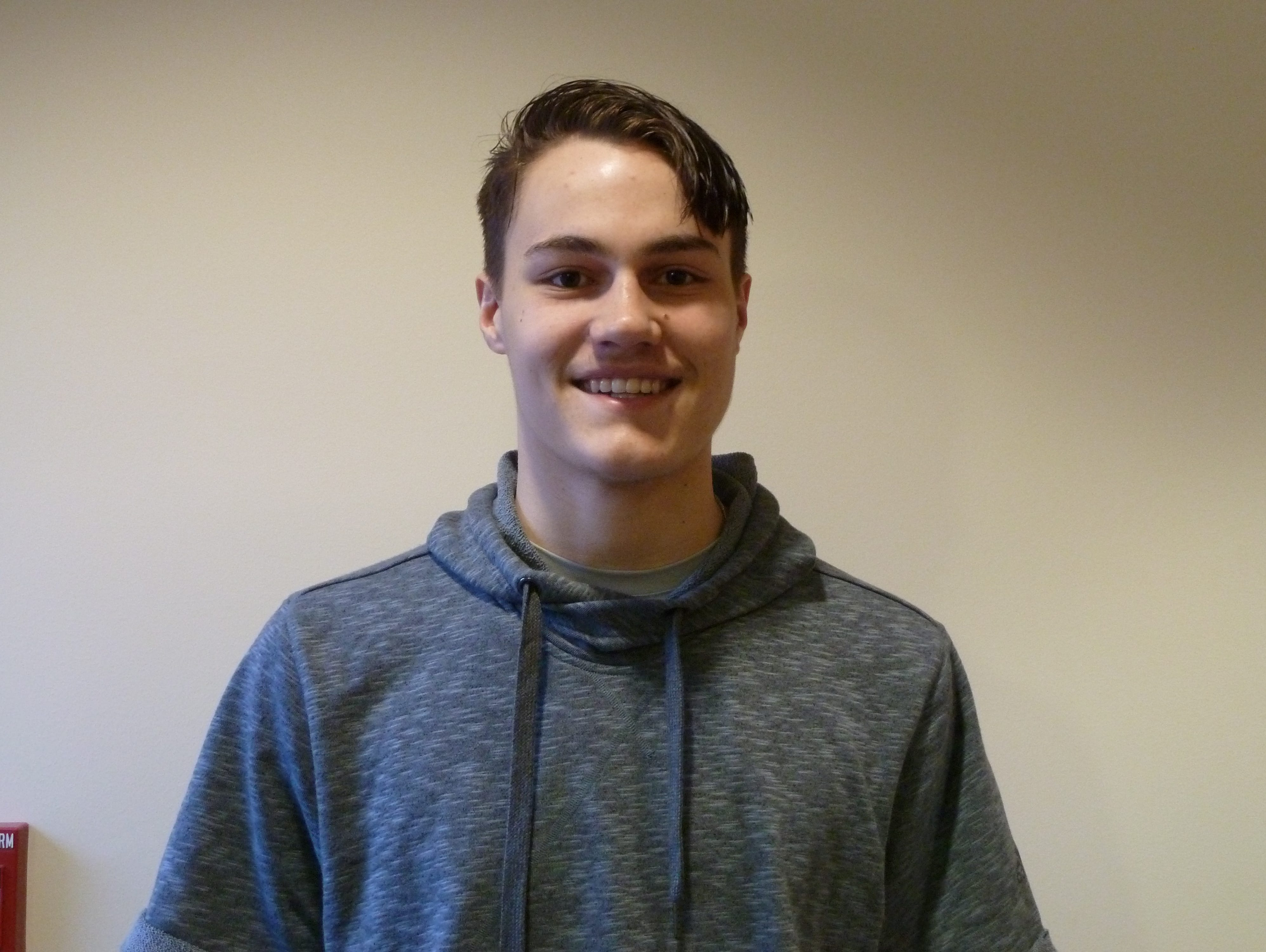 McNary senior Harry Cavell was named the Salem Sports & Breakfast Club boys basketball senior athlete of the year.