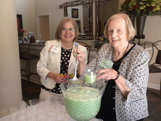 Audrey Price, left, and Nanette Creamer