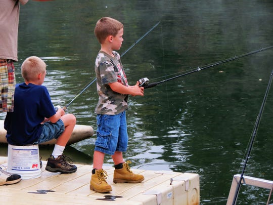 Buncombe County Recreation Services will hold a Spring Kids Fishing Tournament May 14 at Lake Julian.