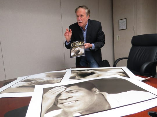 Michael Gaffney explains the photos he included in his book, which detail his year spent as Muhammad Ali's personal photographer.