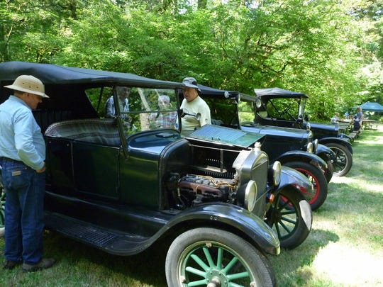 Antique Model T and Model A cars are among the anticipated exhibits at the Historic Silver Falls Day, Saturday, July 9.
