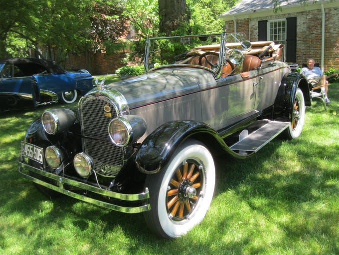This 1926 Chrysler G 70 rumble seat convertible owned