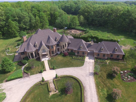 The Grondin house in Hartland Township is selling for $3.1 million.