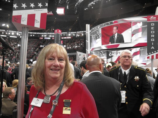 Chris Yaudas, a delegate from the 7th congressional