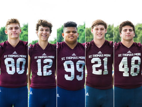 St. Thomas More players to watch Griffin Hebert, Nate
