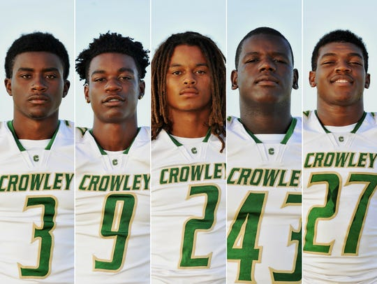 Crowley Players to Watch Keith Wilson, Xavier Johnson,