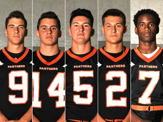 Delcambre High School players to watch Cole Delcambre, Dylan Vallecillo, Matthew Derise, Logan LeBlanc, and Tylar Lewis.