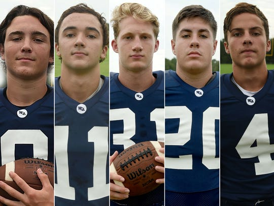 Westminster Christian Academy players to watch Kaleb Prudhomme, Cole Fournet, Ken Jones, Zach Thomas, and Gene Kraemer.