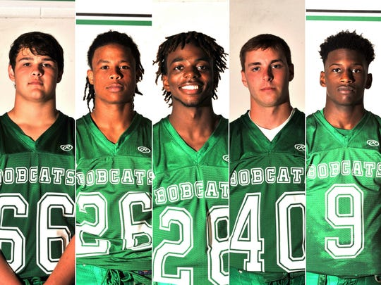 Eunice High School players to watch Shelton Langley, DaShawn Vigers, Georrein Dupre, Cade Richard, and Brandon Ndubueze.