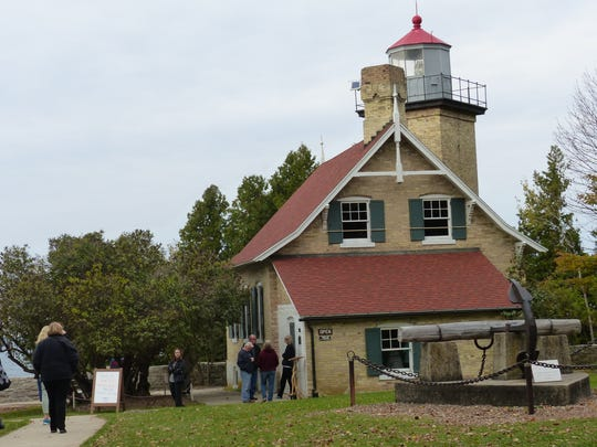 Eagle Bluff Lighthouse Museum in Door County, Wisconsin