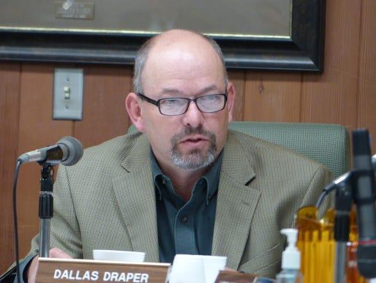 Lincoln County Commissioner Dallas Draper said as water