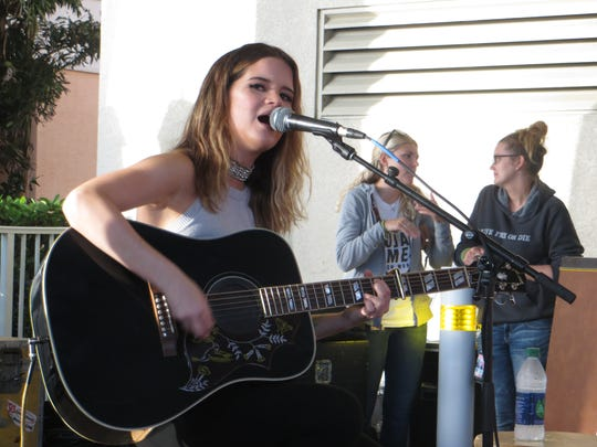 Country star Maren Morris performed Sunday at the last concert of the 2016 Island Hopper Songwriter Fest. The acoustic show took place at  Pink Shell Beach Resort & Marina.