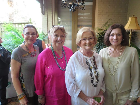 Beth Guilbeaux is pictured with Lynn Crochet, Sally