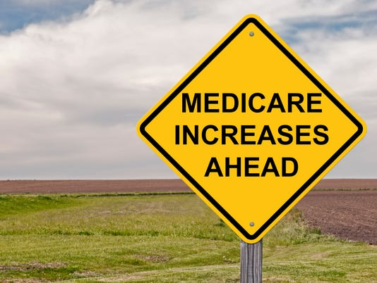 Caution - Medicare Increases Ahead