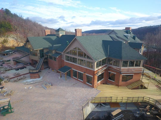 The $8.5 million addition of eateries to Whitetail Resort is nearly complete.