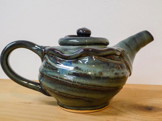 The Claude Lehman Pottery studio continues its holiday sale in Burlington this weekend.
