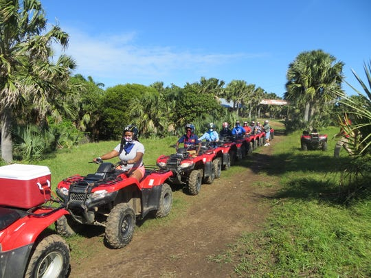 An ATV ride through the Dominican countryside is a popular shore excursion with passengers on the Carnival Vista.
