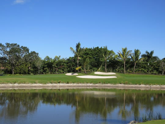 Bentley Village recently underwent renovation of a number of holes on its par-3 golf course in Bonita Springs.