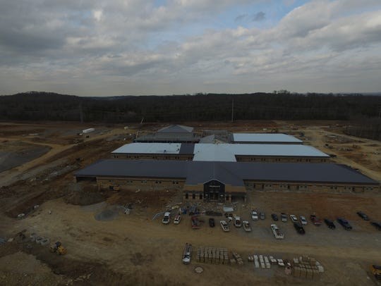 Rocky Fork Middle School in Smyrna will open in time