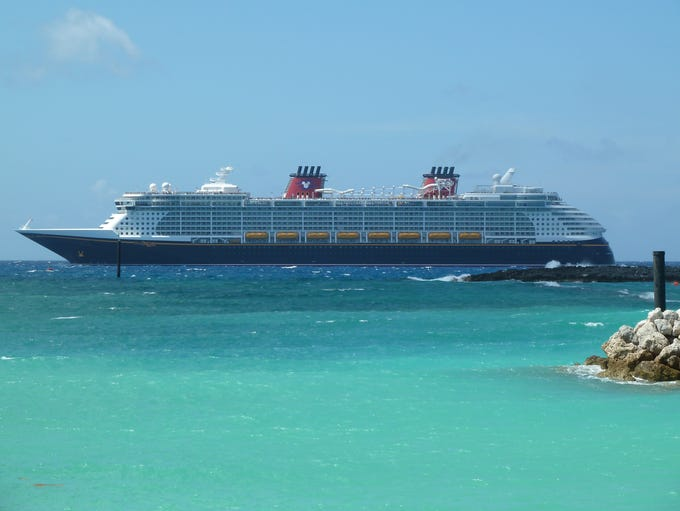 Disney Cruise Line introduced the first of its twin