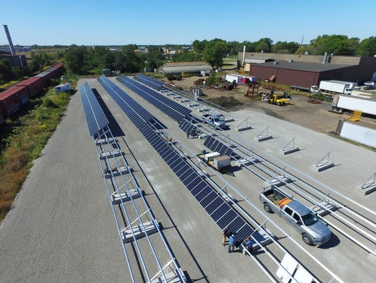 Companies tap solar