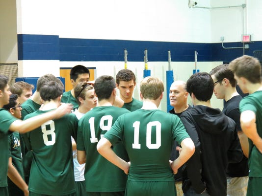 Ramapo boys volleyball team