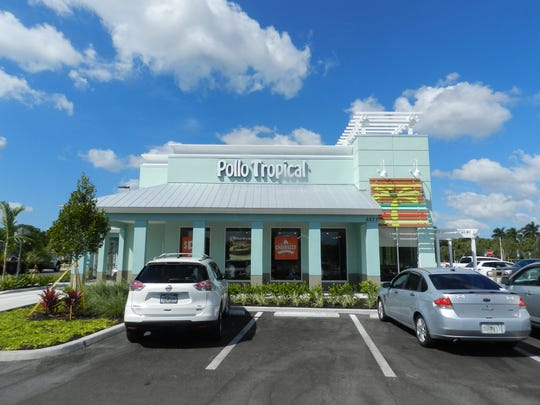 CBRE arranged the sale of two buildings at Restaurant Row in East Naples, including this one, home to Pollo Tropical.