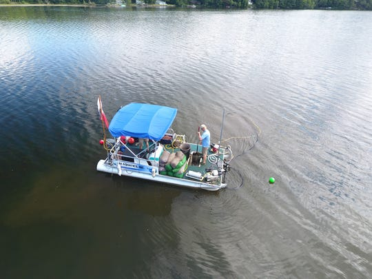 The Lake Iroquois Association has employed DASH (Diver Assisted Suction Harvesting) to control milfoil in the past.