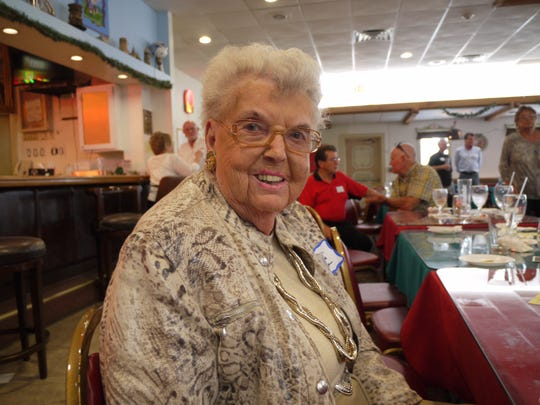 Mary Lou Ketridge Griffith, who worked for the Gulf American Land Corporation, attended the fourth Cape Coral Early Residents' Reunion on April 9.