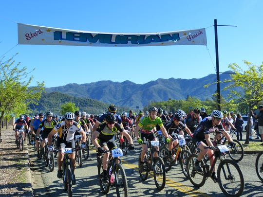 The Lemurian Shasta Classic mountain bike race is held annually at Whiskeytown National Recreation Area.