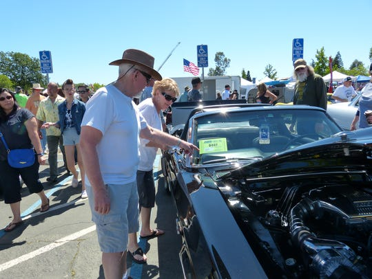 Wally and Judy Belt have owned Mustangs for 44 years