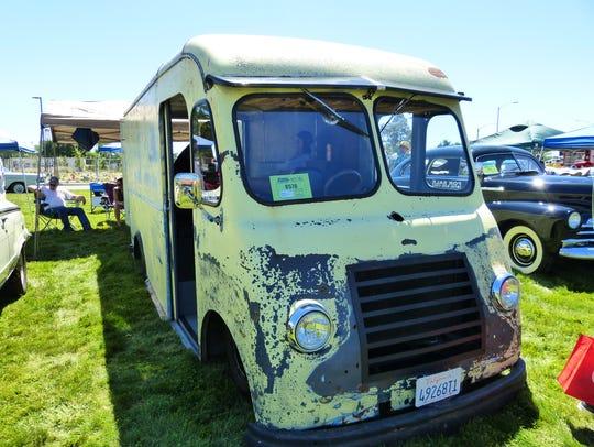 Jake Bradley converted a 1955 Chevy Step-Van, a bread