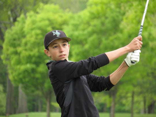 Senior Mikey Folignani is among the key returnees for Midland Park, the reigning NJSIAA Group 1 golf champion.