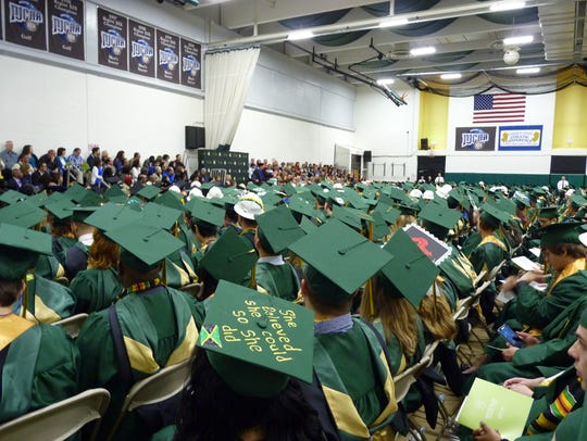There were more than 1,500 students at the 2017 Raritan